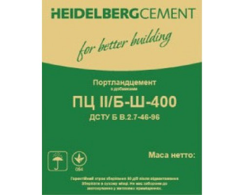 Цемент Heidelbergcement М-400, 25 кг