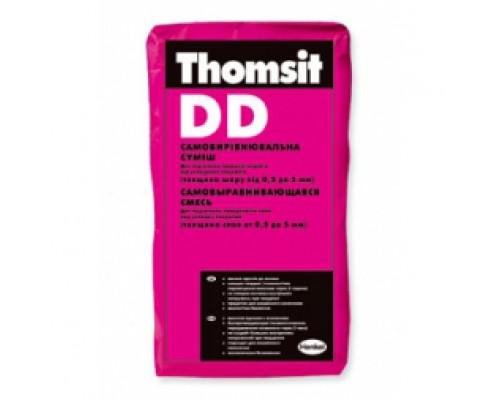 Самовыравнивающаяся смесь (0,5-5 мм) Thomsit DD 25 кг