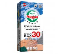 Клей для плитки ANSERGLOB ВСХ 30 25кг